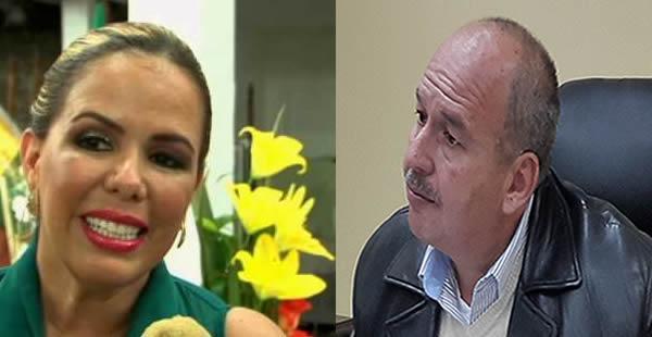 La presidenta del Concejo Municipal cruceño y el senador opositor están enfrascados en una polémica.