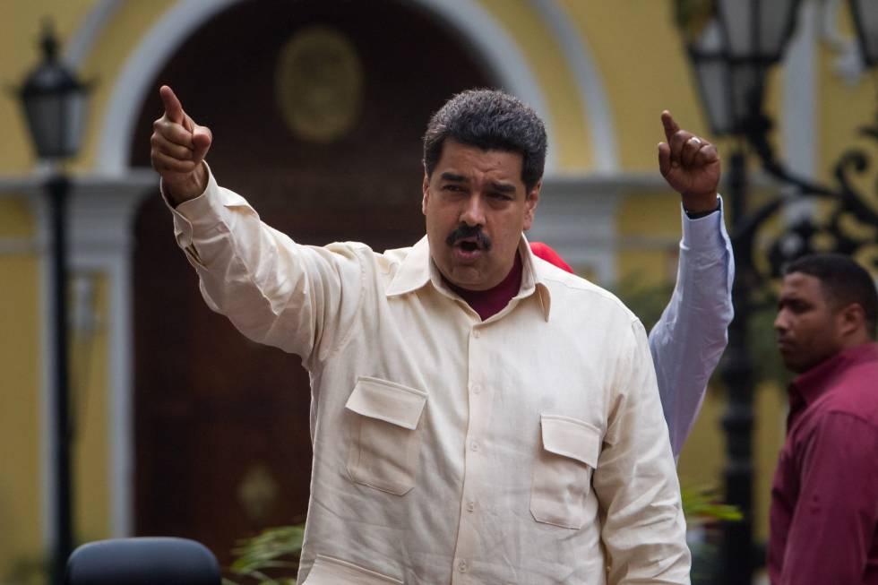 Nicolás Maduro, este martes en Caracas