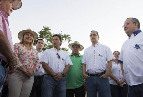 La Caravana de integración Santa Cruz - Mato Grosso retornó este viernes