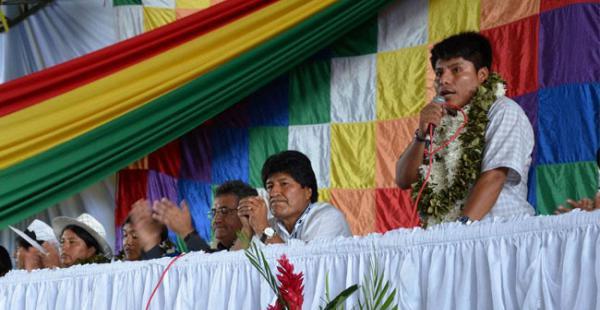 Leonardo Loza dijo que en junio van a apoyar en la presidencia a Evo Morales