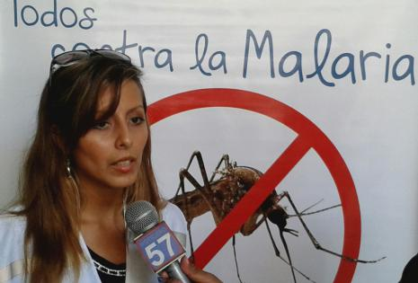 La responsable del programa Malaria habla de la campaña