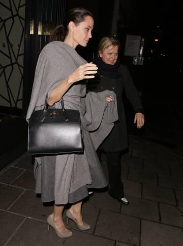 La actriz muestra una notable bajada de peso.