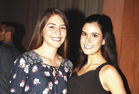 Camila Vaca  y María Fernanda Soruco