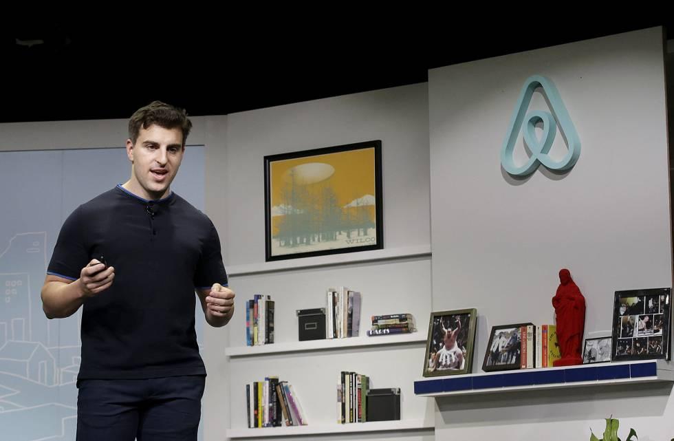 Brian Chesky, confundador y consejero delegado de Airbnb.