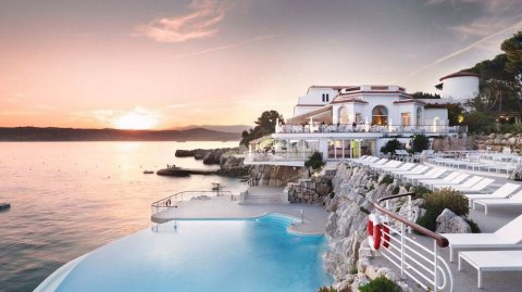 El Hotel du Cap-Eden-Roc, en Antibes, Francia.