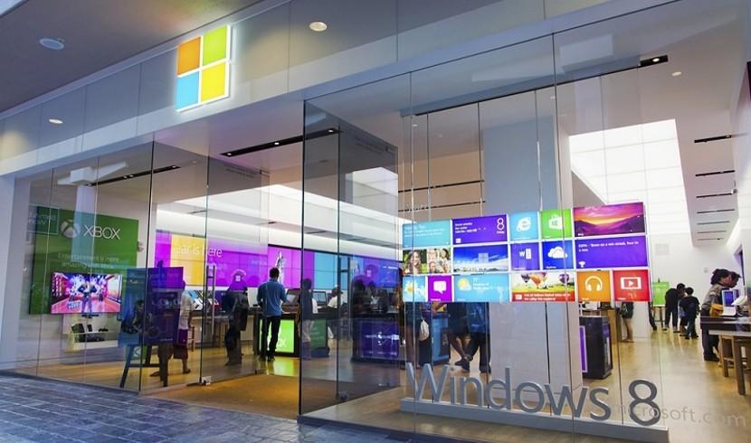 Tienda física de Microsoft