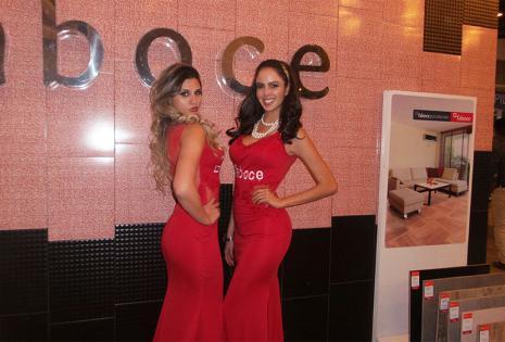 Fátima Javascki y Alejandra Panozo se convirtieron en una dupla sensacional con un rojo de infarto