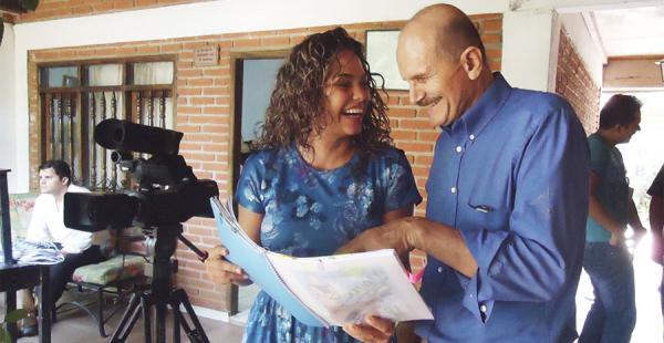 La película fue grabada en las poblaciones aledañas de Santa Cruz. Esta es una muestra