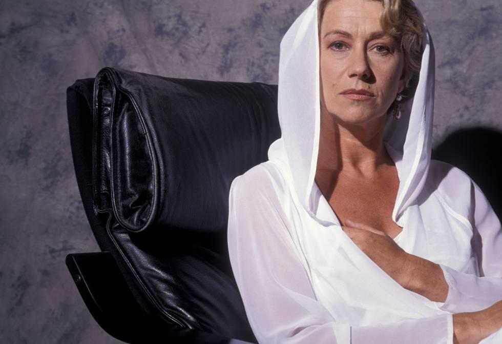 La intérprete británica en un retrato de 1992.