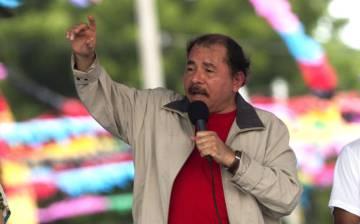 El presidente Daniel Ortega en julio de 2015.