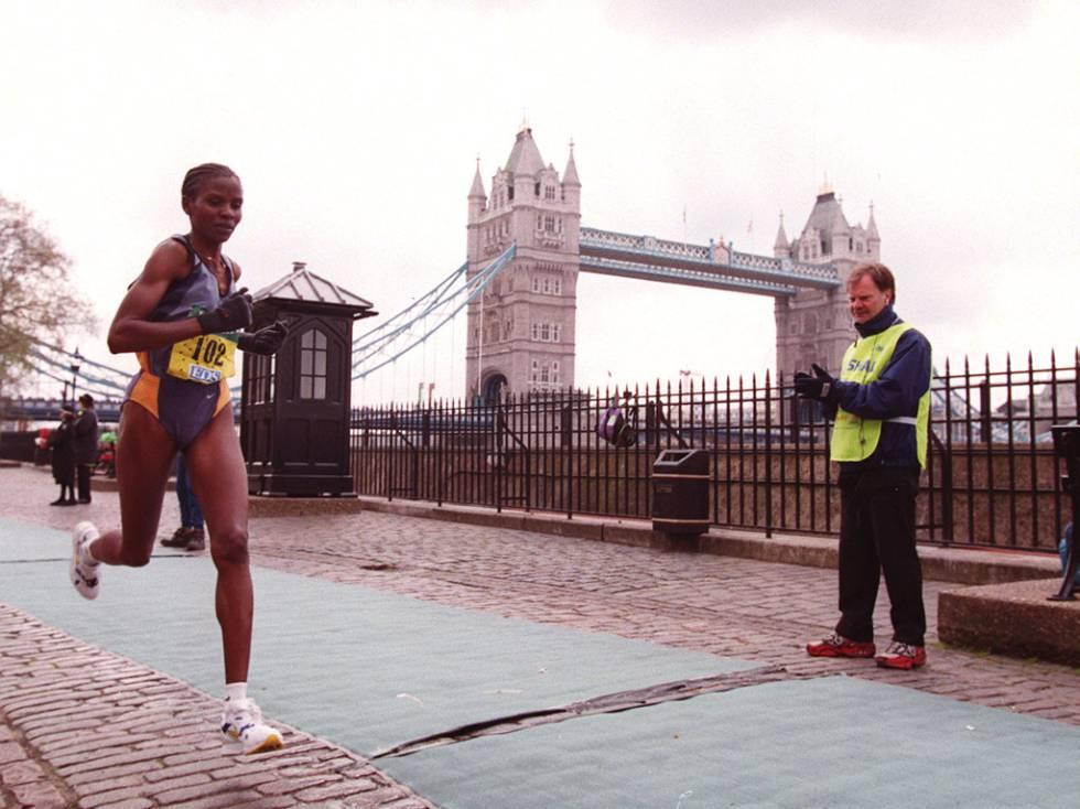 Una prueba de maratón en Londres