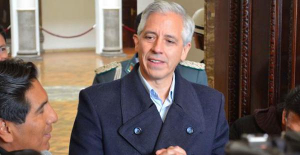 Vicepresidente Alvaro Garcia