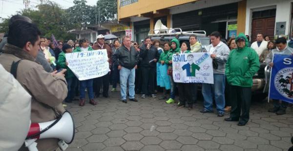Los trabajadores del hospital San Juan de Dios tienen previsto realizar una marcha a las 10:00