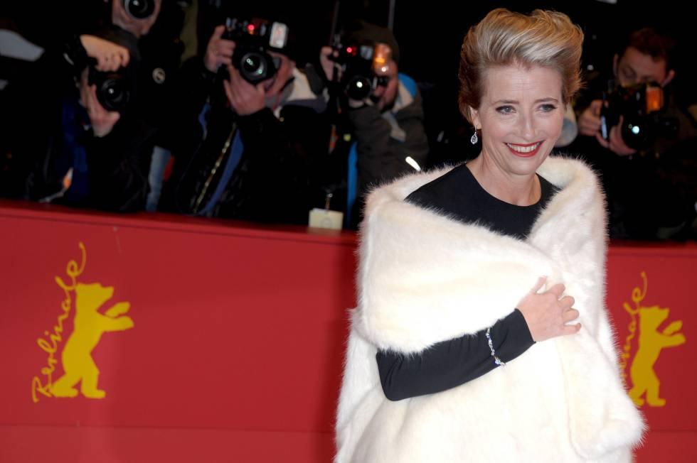 La actriz Emma Thompson, en el Festival de Berlín el pasado febrero.
