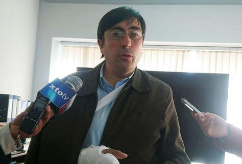 El nuevo viceministro de Comercio Interno y Exportaciones, Fernando Peñarrieta.