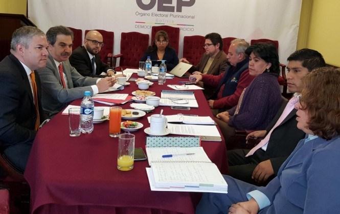 Misión de la OEA inicia labores para la auditoría del padrón biométrico