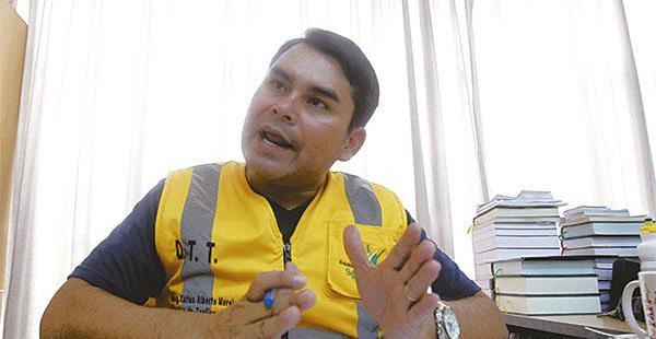 Carlos Alberto Moreira dejará la dirección de Tráfico y Transporte