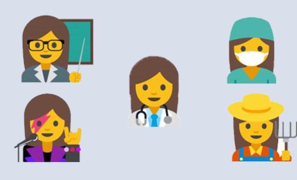 Los emojis femeninos que propone Google para fomentar la igualdad