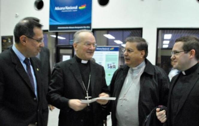 Llega a Bolivia el representante del Vaticano para celebrar los 50 aniversario de la Universidad Católica