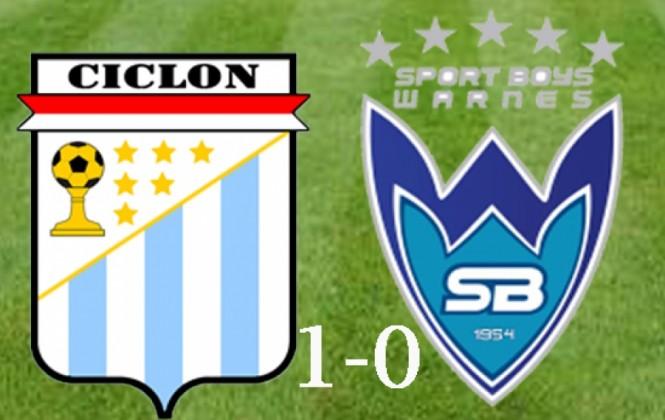 Ciclón logra una agónica victoria 1-0 ante Sport Boys y aún respira en la Liga