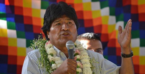 El presidente Evo Morales responsabilizó a