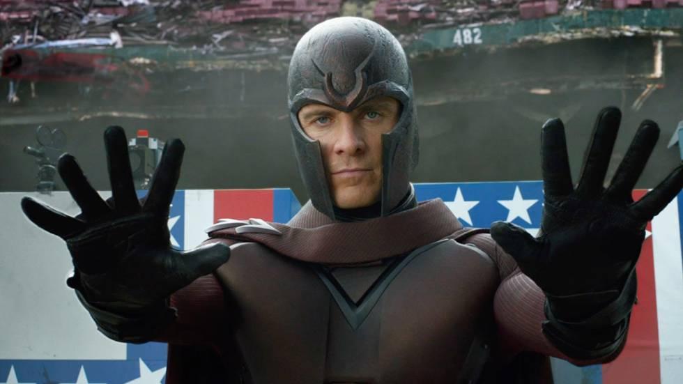 Michael Fassbender en su papel de Magneto.