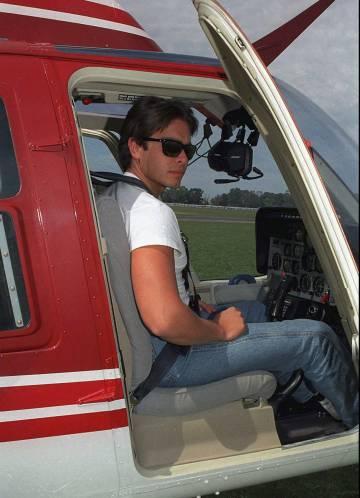 Carlos Menem Jr. en 1995.