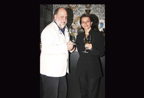 Roxana Moyano y Ramón Freixa conocieron el sabor del nuevo producto