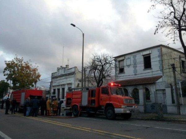 Incendio Montevideo