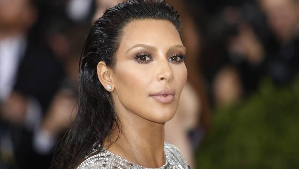 Kim Kardashian en la gala del MET.