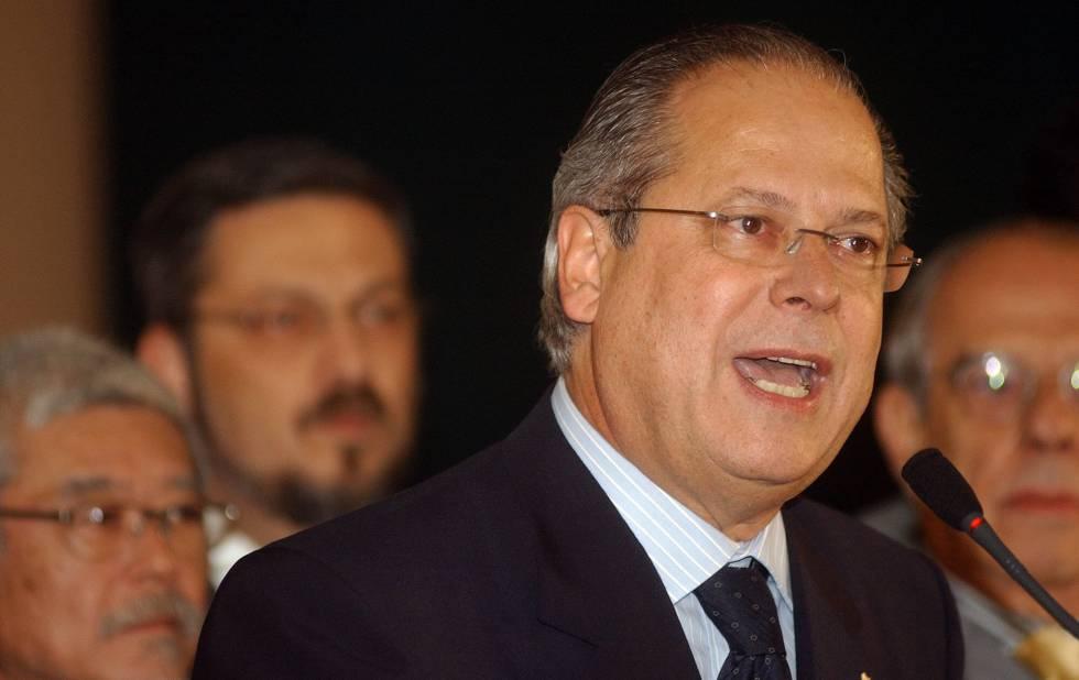 Fotografía de archivo de junio de 2005 de José Dirceu.