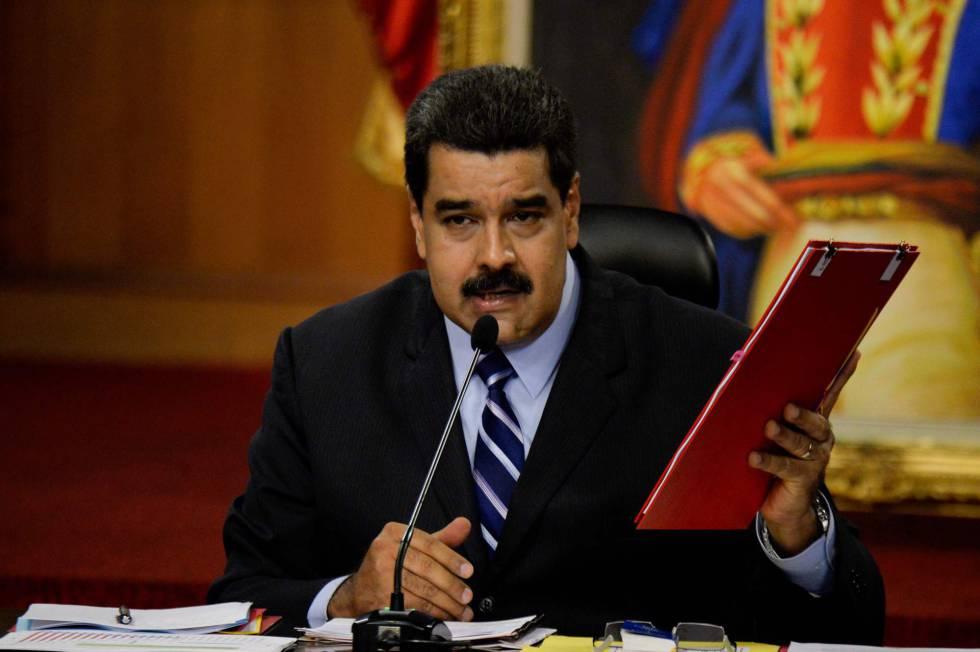 El presidente de Venezuela, Nicolás Maduro, acusa a Almagro de