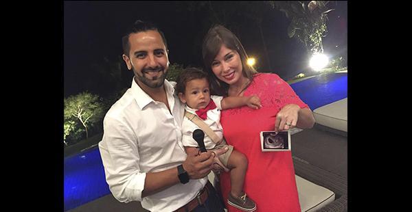 Carlos Rocabado recibirá a su segunda hija en julio