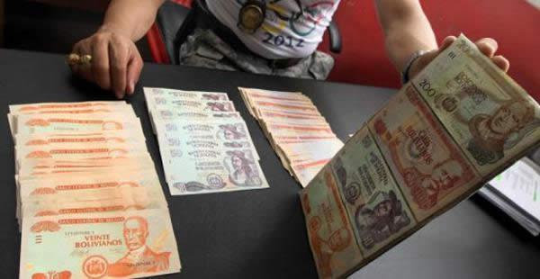 El hombre que la Policía presentó este martes como presunto autor de 50 atracos tenía en su poder billetes falsos