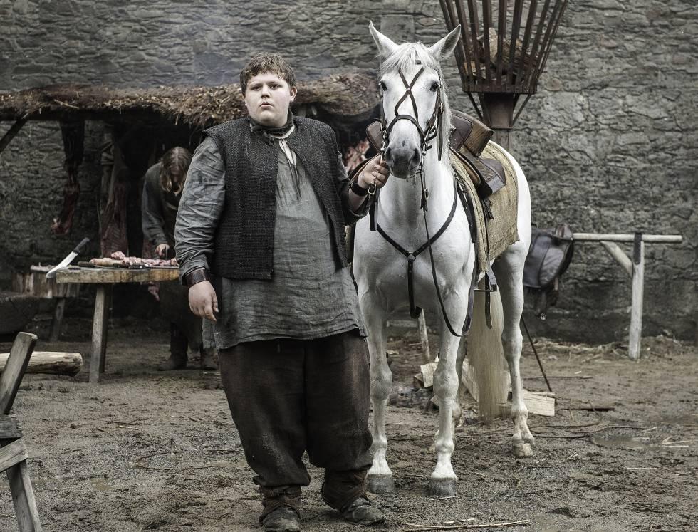 Hodor, cuando aún era Wylis.