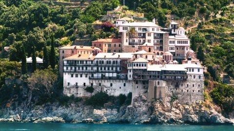 Debido a su auto aislamiento, Monte Athos posee un paisaje que no alteró la civilización.