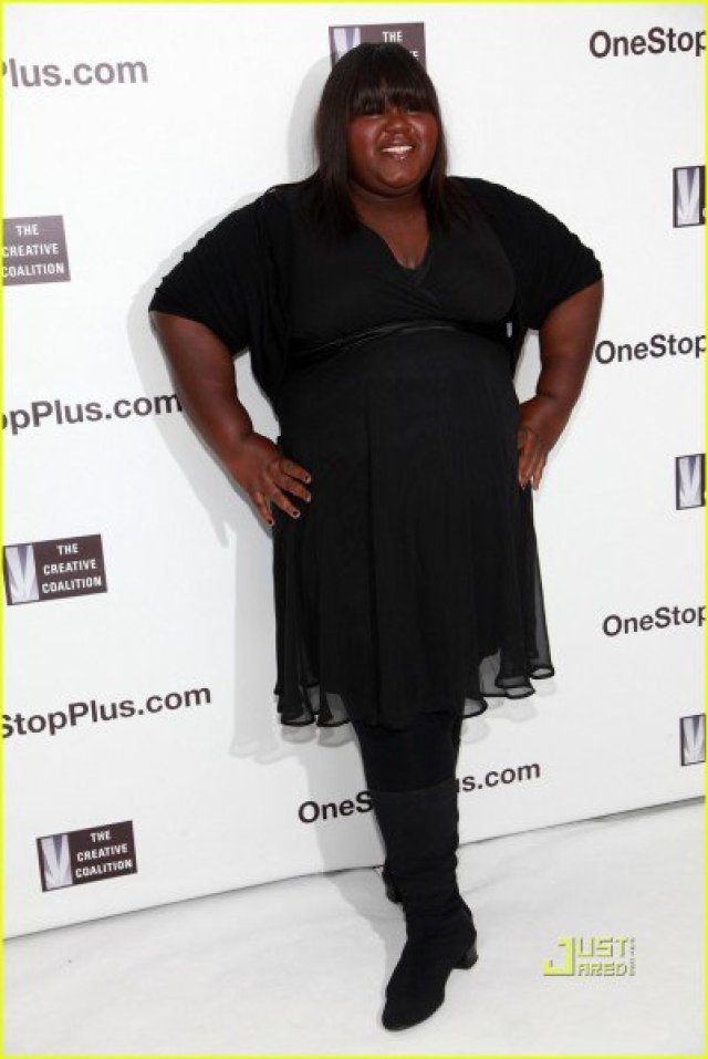 NEW YORK - SEPTEMBER 15: Actress Gabourey