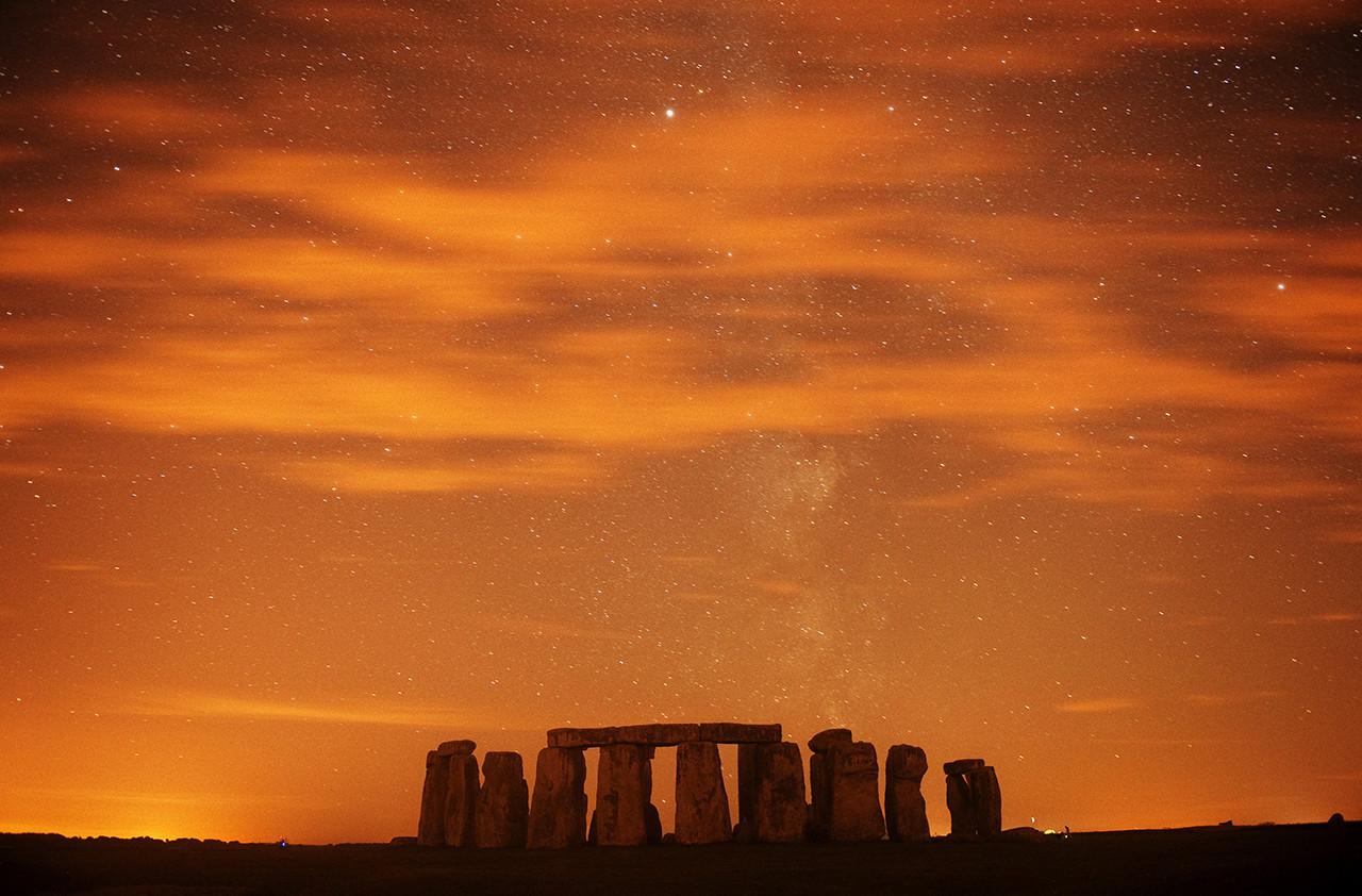 El monumento megalítico de Stonehenge, Reino Unido.