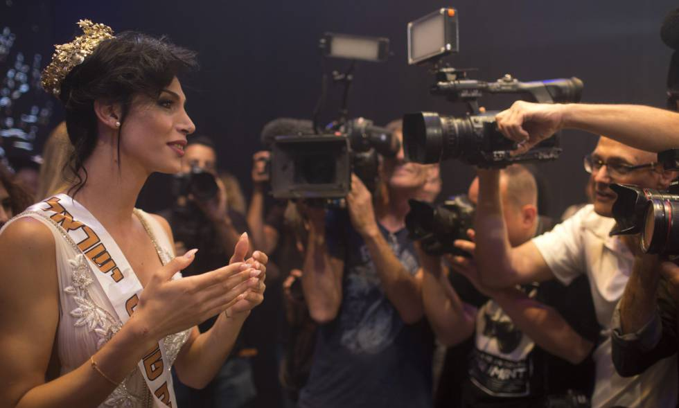 Taalin Abu Hana, ganadora del primer concurso de belleza Trans Israel.