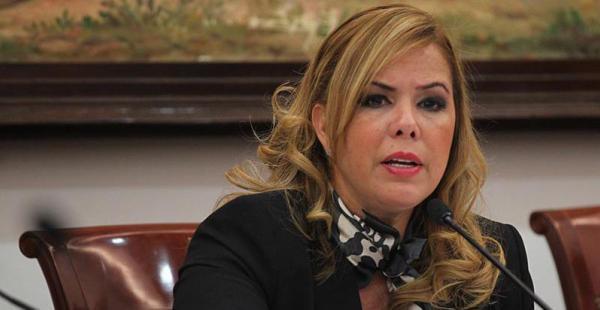 Angélica Sosa en una de sus últimas sesiones en el Concejo. Hoy rendirá informe de gestión