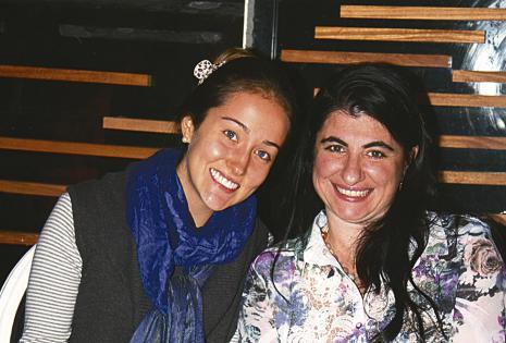 Laura Pizzatto y Elisa Ciavolella