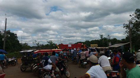 Pobladores de Guayanamerín comenzaron a movilizarse desde el 26 de mayo con el bloqueo de la ruta hacia Riberalta.
