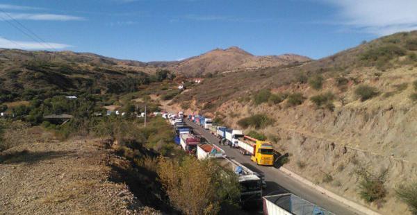 El transporte pesado y otros sectores protagonizan las medidas de presión, aunque no todo el territorio nacional afronta el perjuicio.