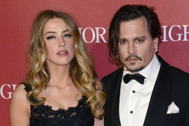 52073006 Actress Amber Heard has officially filed for divorce from her husband Johnny Depp on May 23, 2016. Amber stated the reason for the divorce was