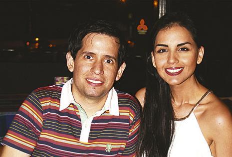 Sergio Mier y Valeria Fehse no quisieron estar ausentes
