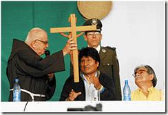 ¿Por la campaña?, los socialistas se declaran católicos y reciben bendición