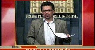 Gobierno dice que paro indefinido en Potosí es para defender a Joaquino