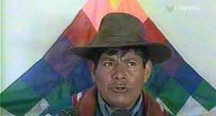"""Conamaq reconoce que sale """"trasquilada"""" de las reuniones con Evo Morales"""