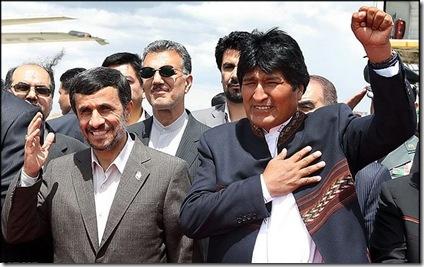 Ahmadinejad-Evo-Morales