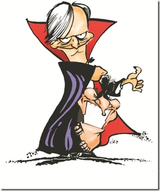 AGL caricatura